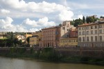 Florence along the river