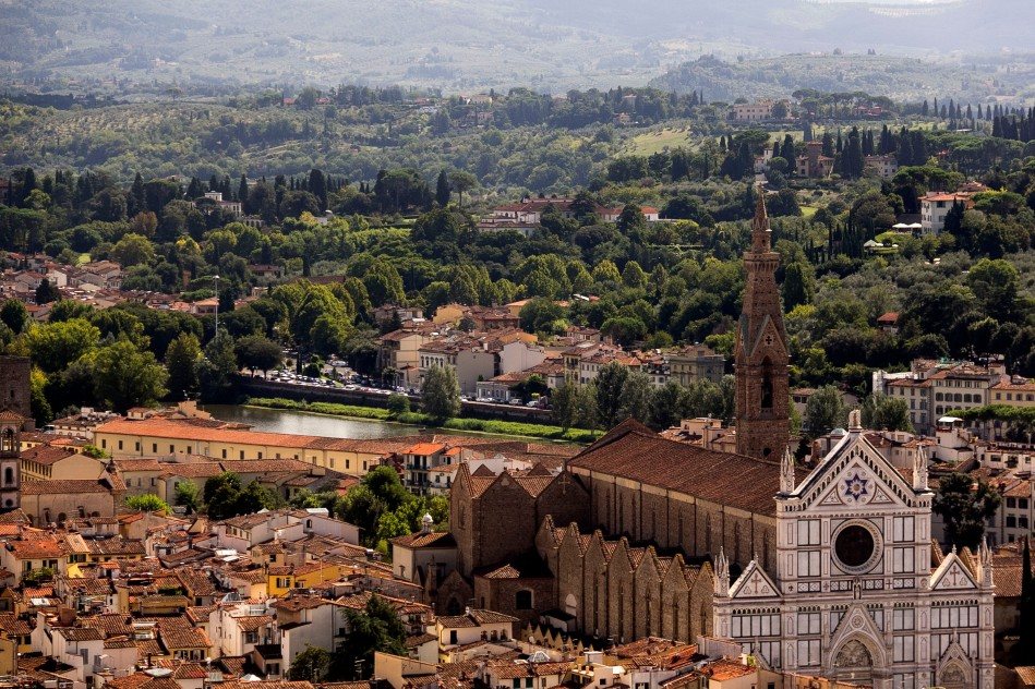 Florence San Marco and countryside