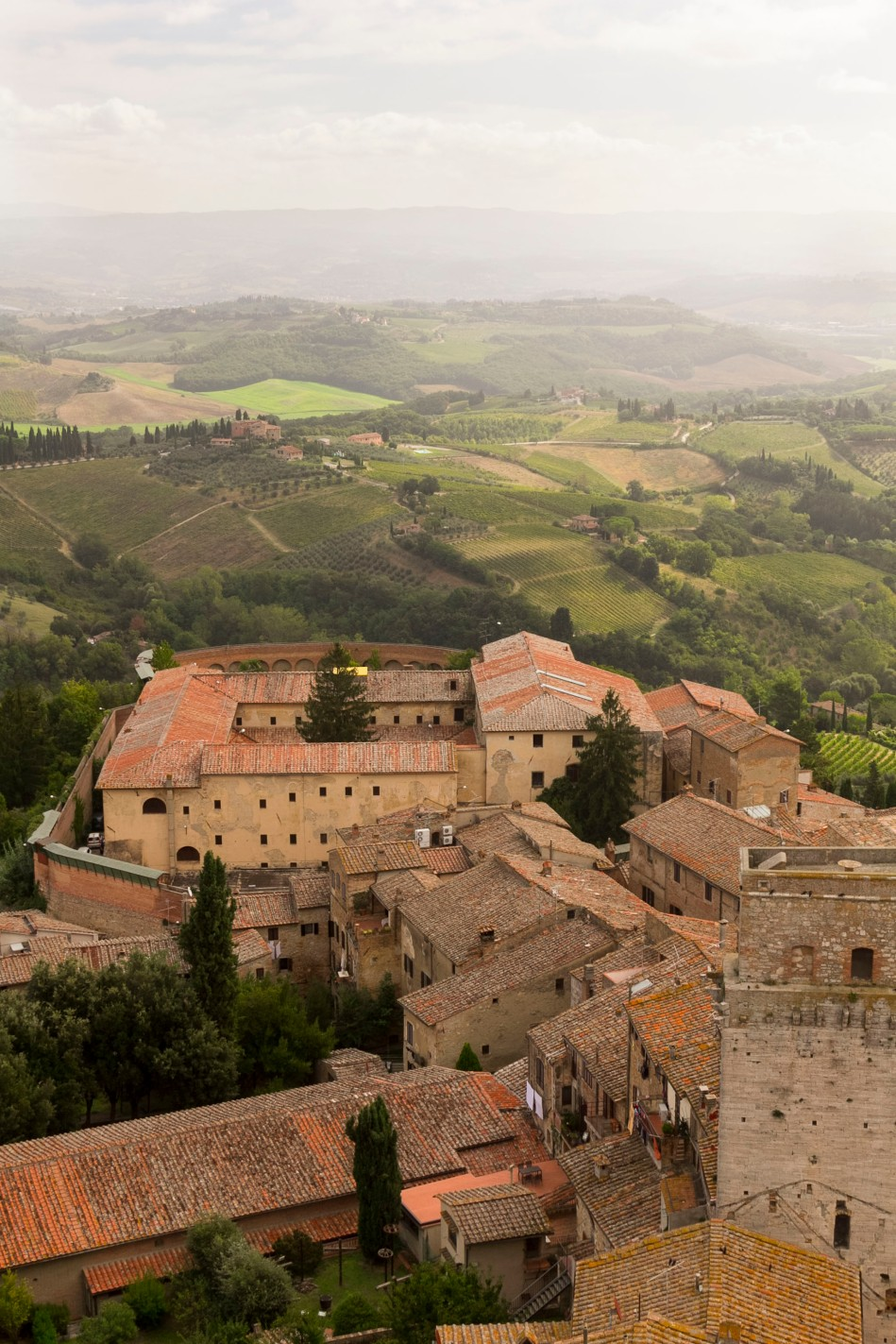 San Gimignano and surroundings