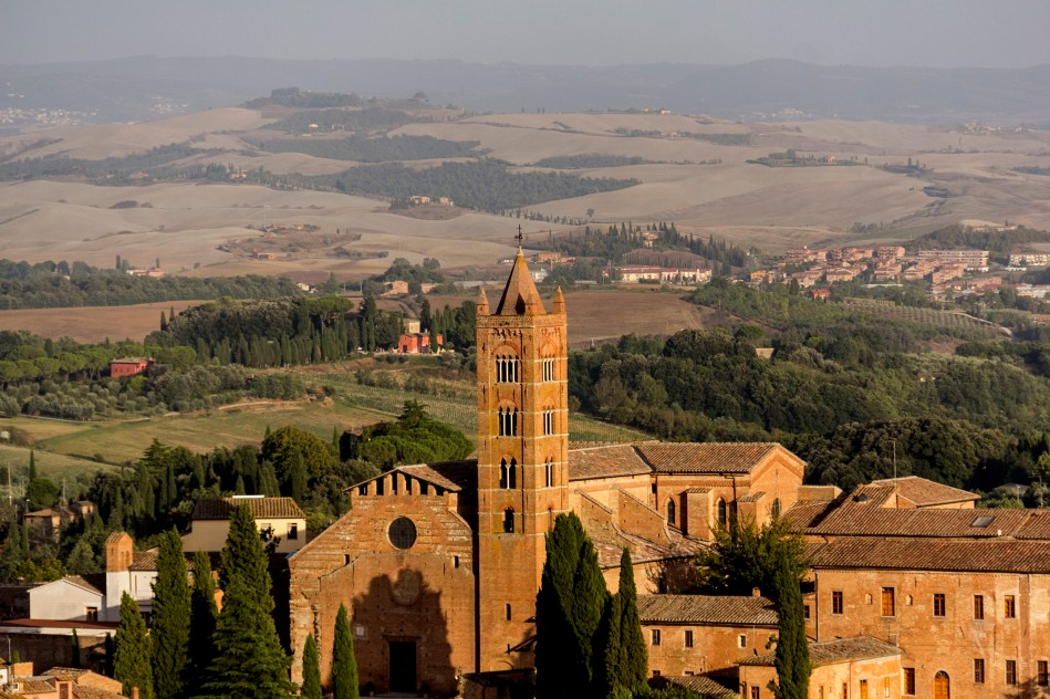 Siena countryside