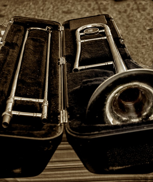 slide trombone