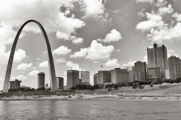 arch with skyline