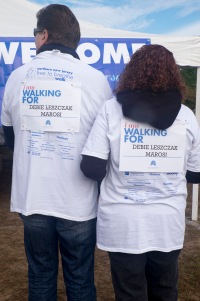 walking for Debie