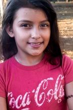 girl with Coca Cola shirt Axayachtl farm