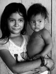 sister and baby El Porvenir