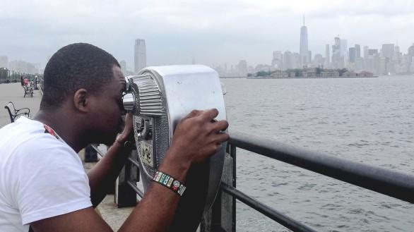 Kolowale and the NYC skyline