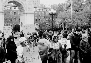 rally-in-washington-square-park