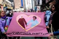 scarves in solidarity