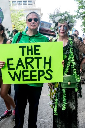 the earth weeps